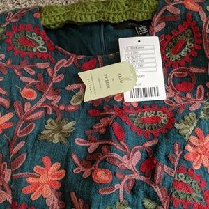 Anthropologie Dresses - Anthropolgie Garden Needlepoint, Andelyn Ray Dress